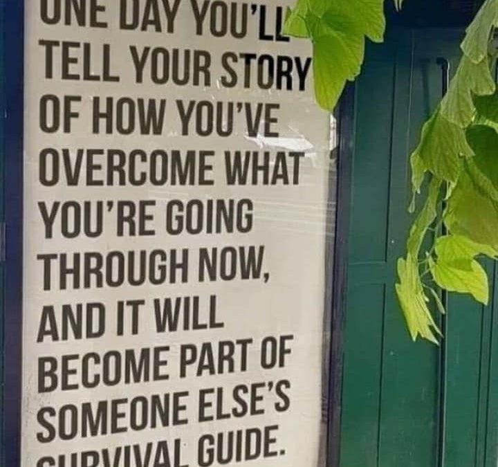 Life stories…